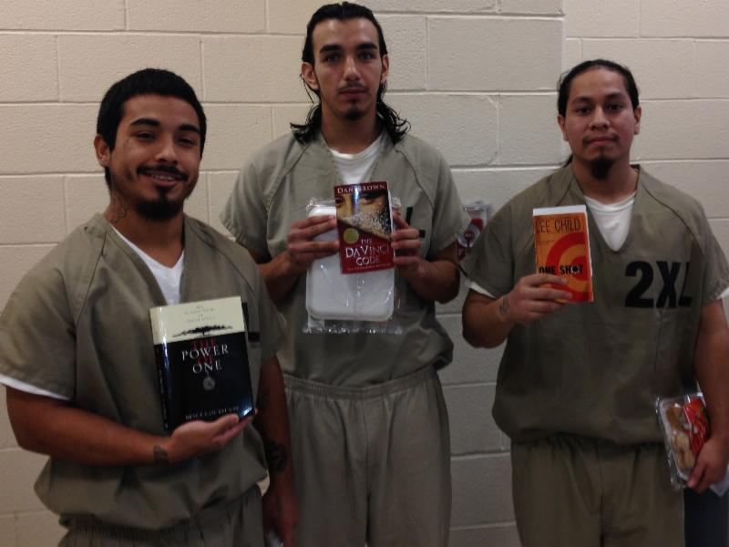 Three inmates showcase their book selections