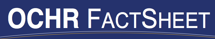 OCHR Fact Sheet