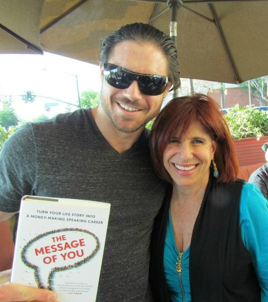 Judy and John Morrison at Flapper's Book Release and Signing Event