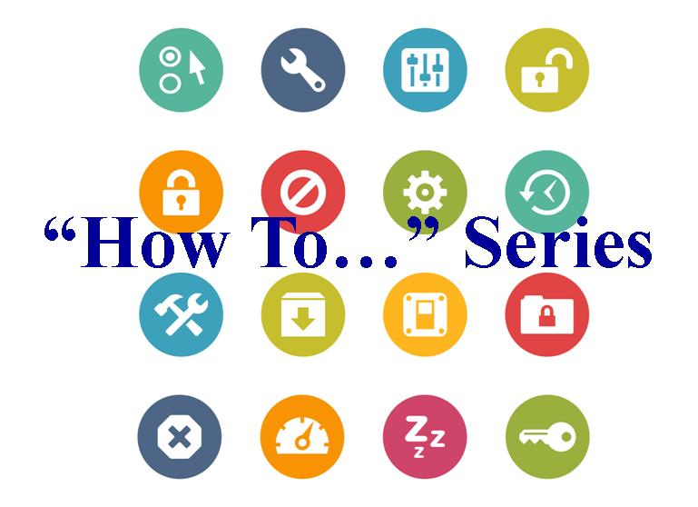 How To Series Logo