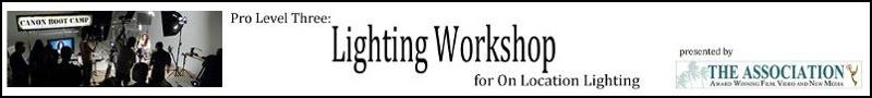 Lighting WOrkshop Banner5