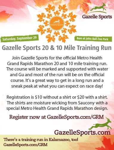10 & 20 Mile Training Run