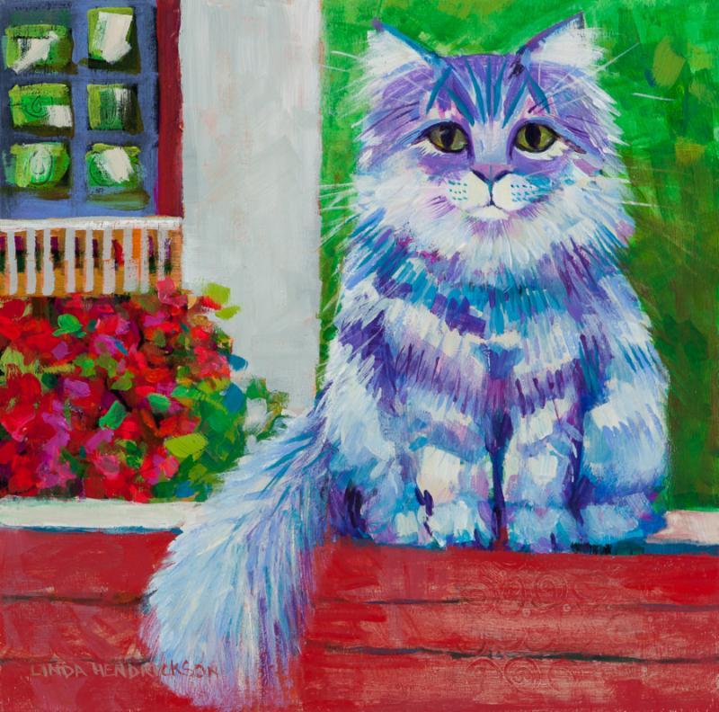 Linda Hendrickson, Acrylic Painting