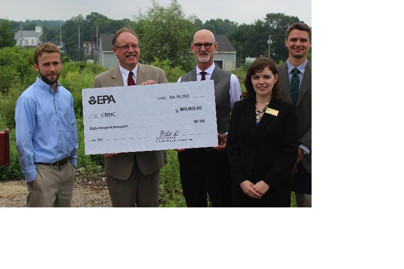 CRDC EPA Grant Check Presentation