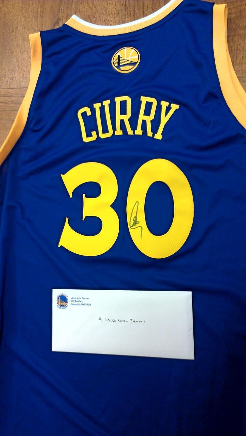 Warriors Stephen Curry Jersey