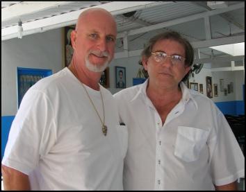 John of God and Rev. Calvin Cates at the Casa