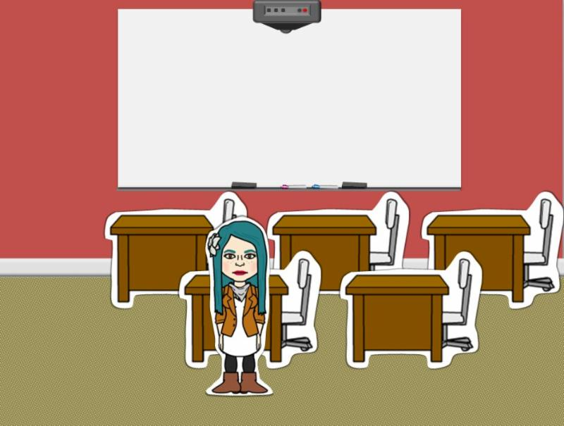 Example of using Bitstrip Characters