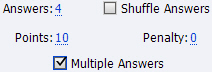 Adobe Captivate 6: Multiple answers option