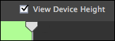 Adobe Captivate 8: View Device Height.