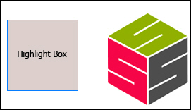 Adobe Captivate: Highlight Box and Logo.