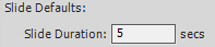 Adobe Captivate Slide Duration Defaults.