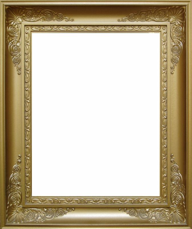 Gold frame with no restrictions