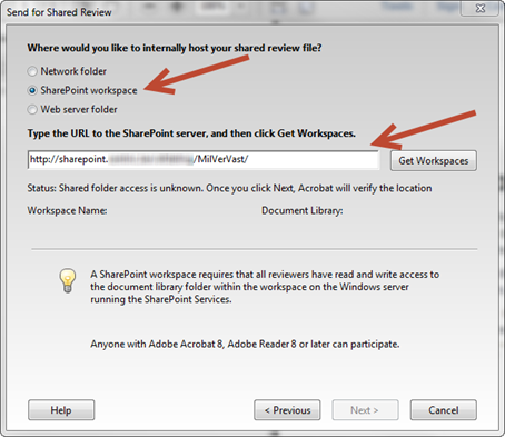Adobe RoboHelp: SharePoint Workspace.