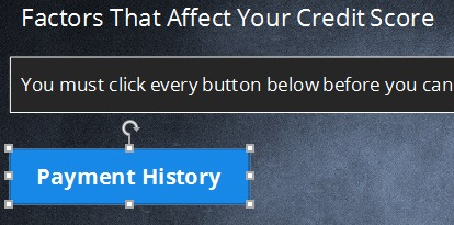 Articulate Storyline: A labelled button