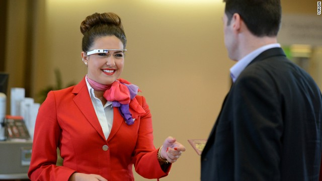 Google Glass being tested at Virgin Atlantic