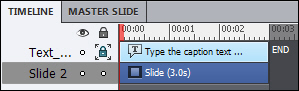 Adobe Captivate: Object semi locked.