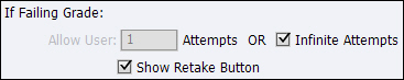 Adobe Captivate: Show Retake Button.