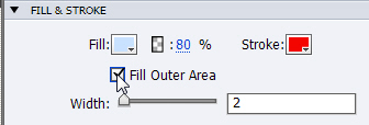 Adobe Captivate: Fill Outer Area