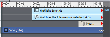 Adobe Captivate: Extending a slide's playtime also alters the appear time for the objects.