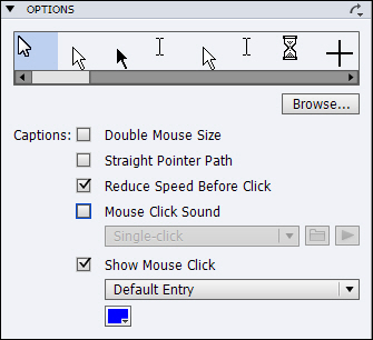 Adobe Captivate: Turn Off Mouse Click Sound