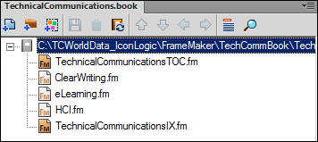 Adobe FrameMaker: Book structure