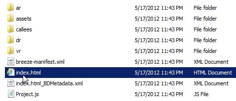 HTML5 Output