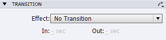 Adobe Captivate: No Transition