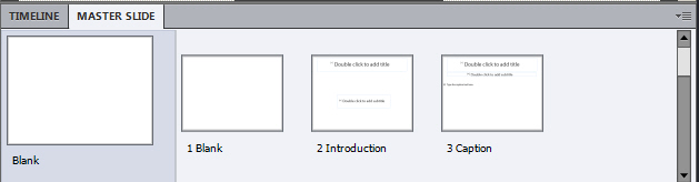 Adobe Captivate: Blank Project.