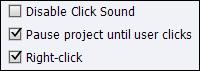 Adobe Captivate: Adding a right-click to a click box.