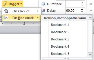 The Logical Blog by IconLogic: PowerPoint 2010: Use Video Bookmarks