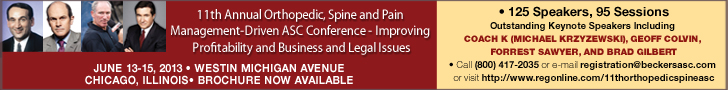http://beckersspine.com/news-analysis/item/14269-11th-annual-orthopedic-spine-and-pain-management-driven-asc-conference
