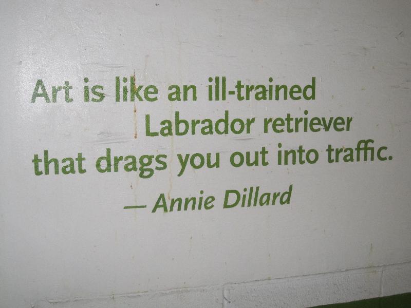 Art is like a labrador