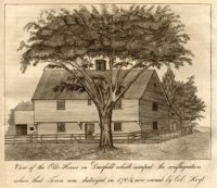 Indian House Engraving