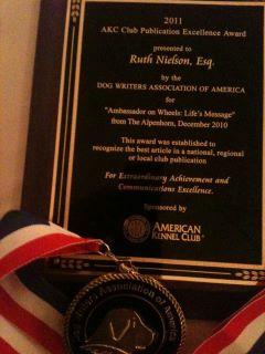 Ruth & Winter's Award
