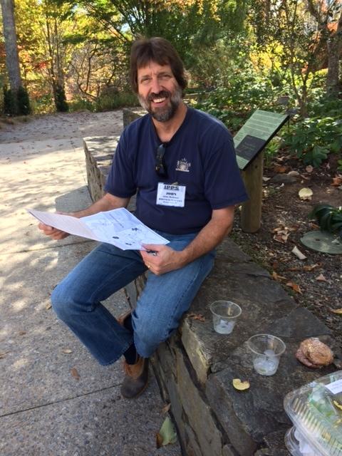 John Hoffman at NC Arboretum