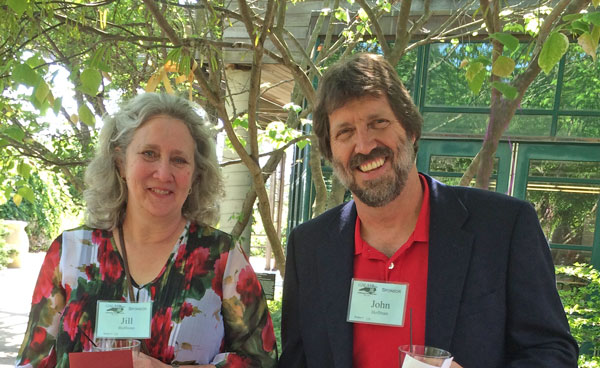 John & Jill Hoffman at Gala 2014
