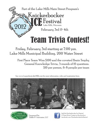 Team Trivia Flyer