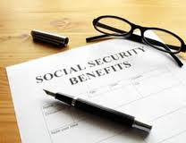 Social Security benefits papers