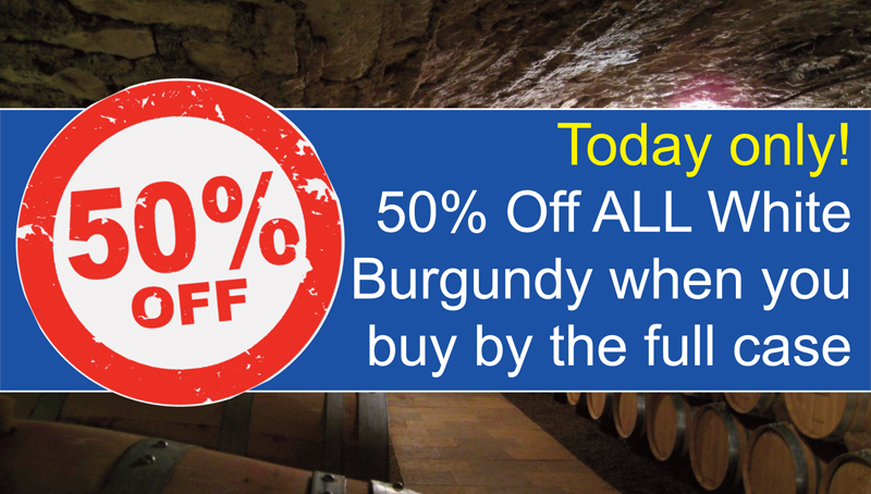 White Burgundy 50% Off