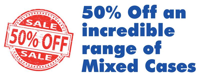 50 Percent Mixed cases