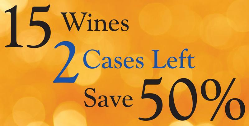 15 Wines 2 Cases