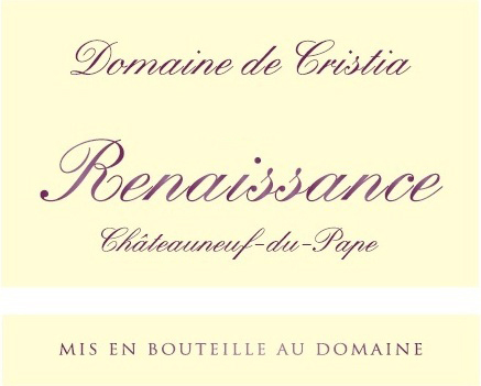 Cristia Renaisance NV Label