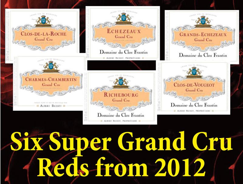 6 Super Grand Cru Reds