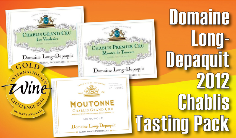 Long-Depaquit Chablis 2012 pack