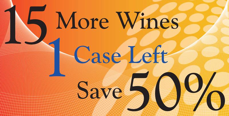 15 Wines 1 Case
