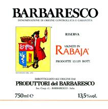 Produtorri Barbaresco Rabaja