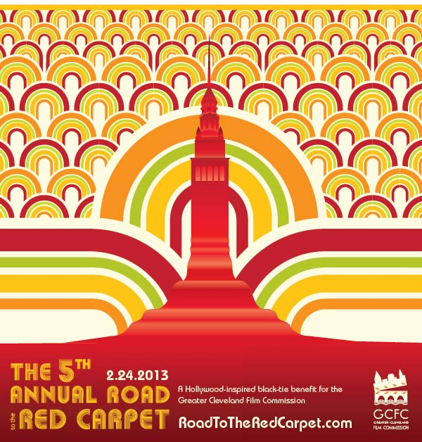 The 5th Annual Road to the Red Carpet — A Hollywood-inspired black-tie benefit for the Greater Cleveland Film Commission RoadToTheRedCarpet.com