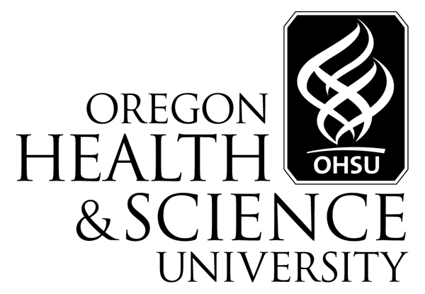 OHSU Logo w/ black lettering