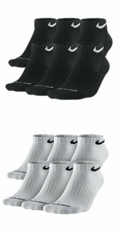 Men's Nike Dri-Fit Cushion Low-Cut Socks, 6-pack