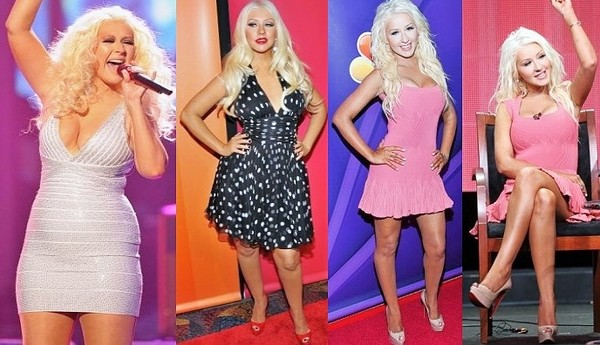Christina Aguilera: Celebrities with Weight Loss Success